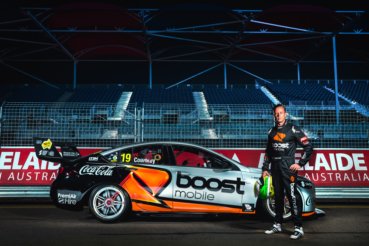 Courtney Pivotal In Last Minute Sponsor Switch Supercars