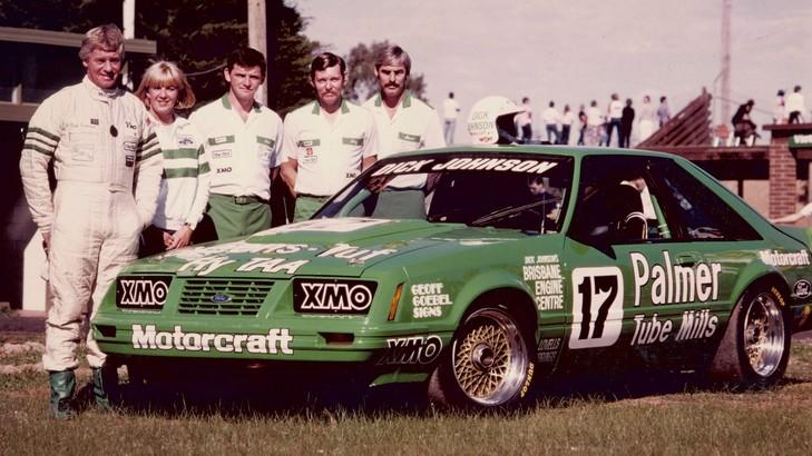 1985 Johnson Mustang Team