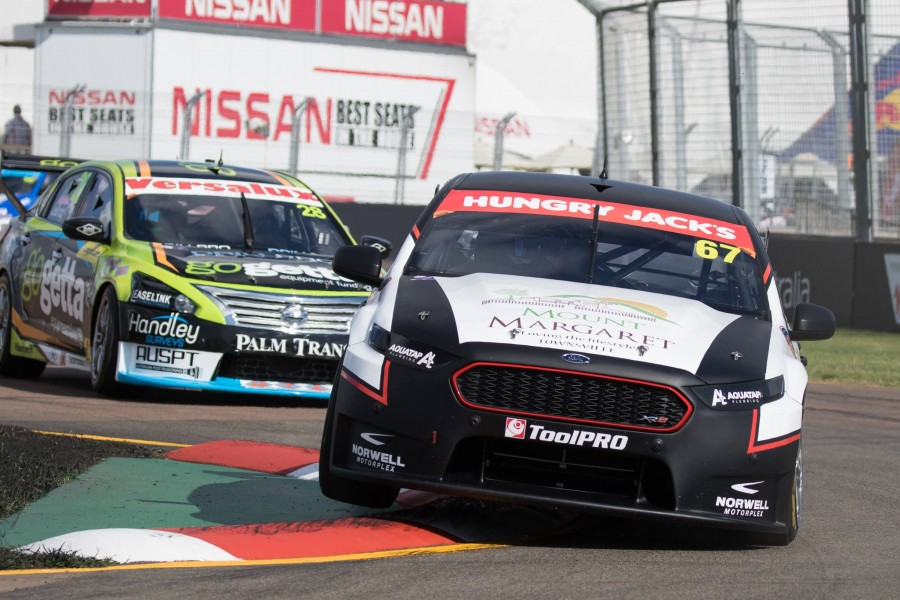 De Pasquale sits fourth in the Dunlop Super2 Series