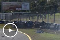 Hazelwood walks away from major incident at Sandown