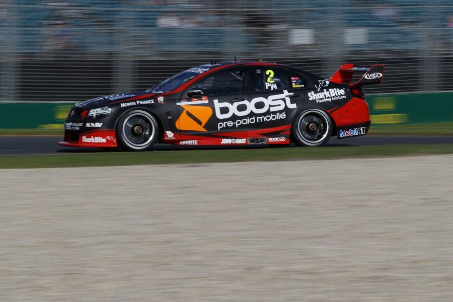 Scott Pye of Walkinshaw Racing during the Australian Grand Prix,  at the Albert Park, Melbourne, Victoria, March 23, 2017.