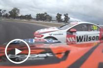 Tander, Courtney collide at Winton