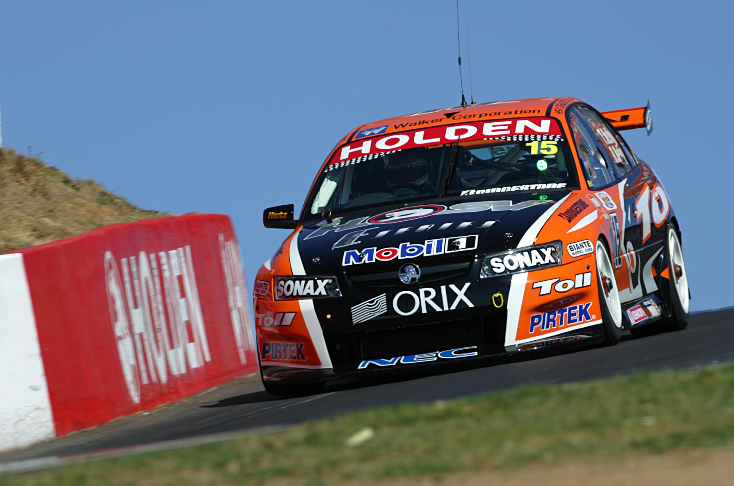 V8 Supercars during the Friday Practice sessions at Mt Panorama, Bathurst