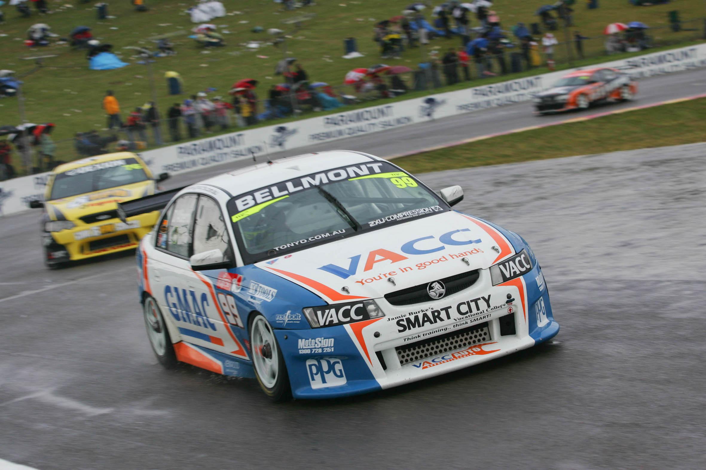 Fujitsu V8 Supercars Race 3 at Oran Park Raceway, Sydney