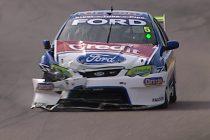 Flashback: Opening lap bingle ruins Frosty's race