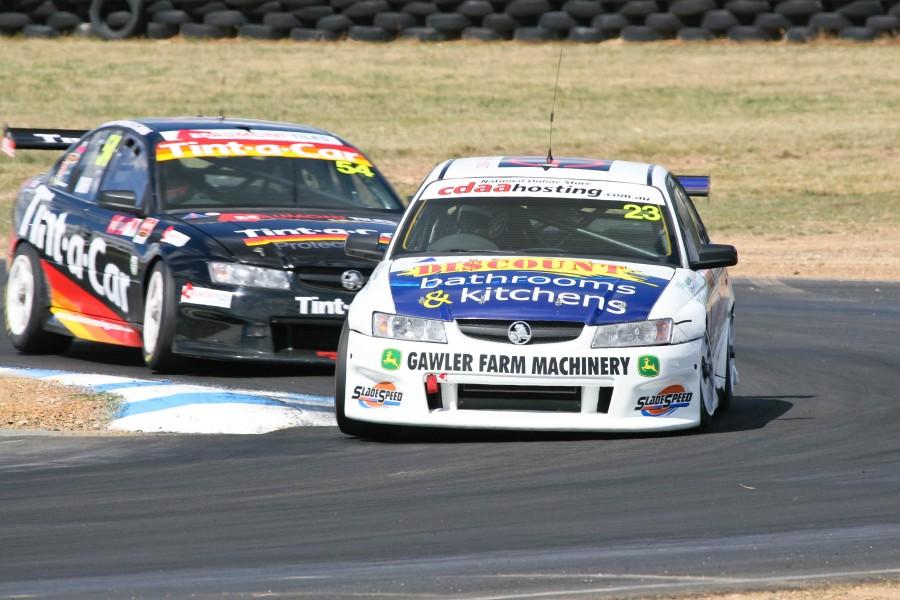 Round 02 of the 2008 Fujitsu V8 Supercar Development Series