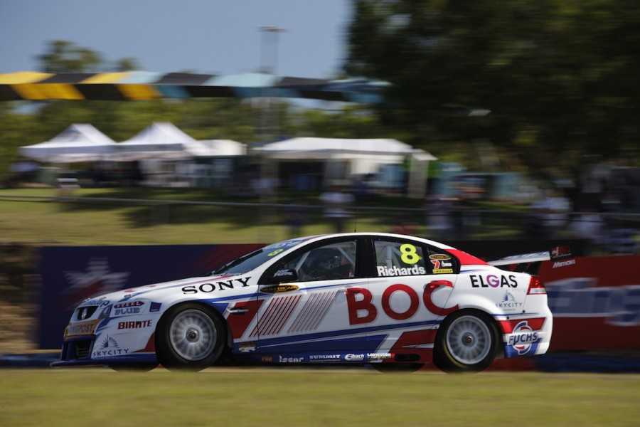 V8 Supercars take to the Hidden Valley Raceway for Practice session 1 of the Skycity Triple Crown, Darwin
