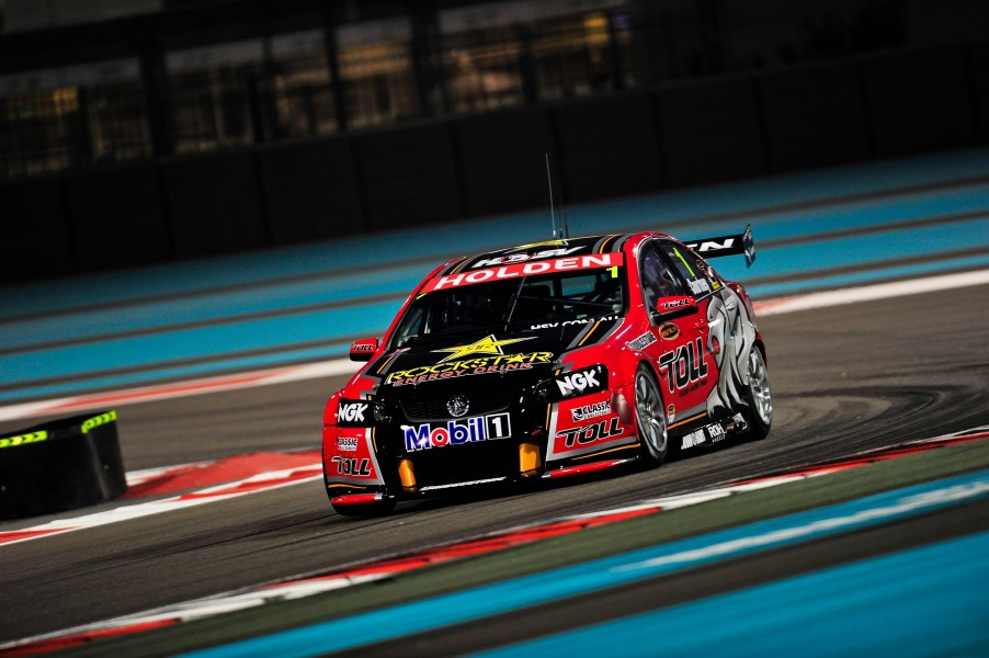 V8 Supercars at the Yas Marina Circuit for the 2011 Yas V8 400, Abu Dhabi