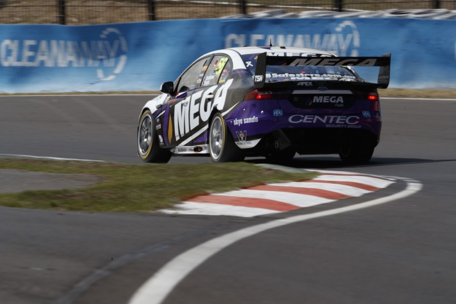Jason Bright of Mega Racing during the Supercheap Auto Bathurst 1000,  at the Mount Panorama Circuit, Bathurst, New South Wales, October 05, 2017.