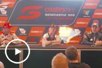 Sunday Press Conference – Newcastle 500