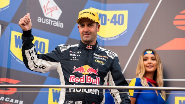 Whincup stripped of second by post-race penalty