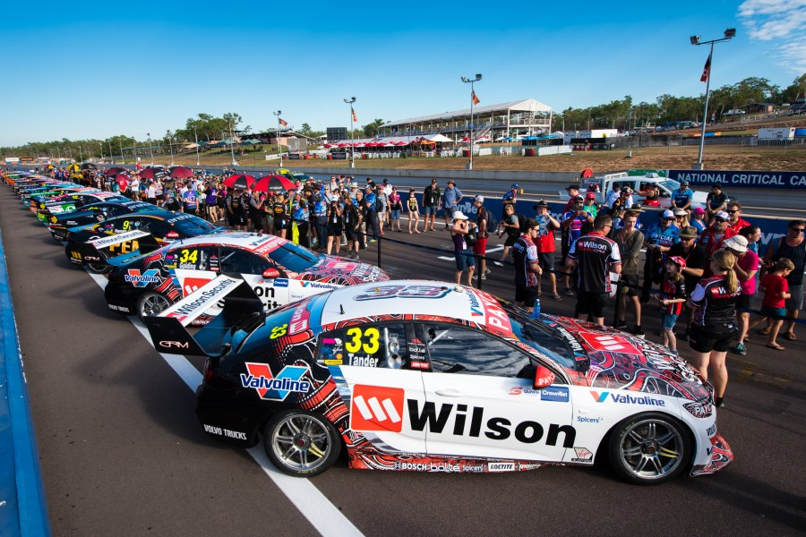 2018 Supercars Championship Round 7. Darwin Triple Crown, Hidden Valley Raceway, Hidden Valley, Darwin, Northern Territory, Australia. Friday 15th June to Sunday 17th June 2018. World Copyright: Daniel Kalisz Photographer Ref: Digital Image DSC_5440.NEF