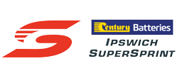 V8 Supercars - Century Batteries Ipswich SuperSprint logo