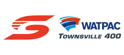 V8 Supercars - Watpac Townsville 400 logo