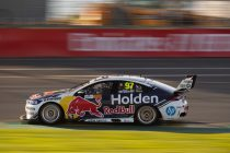 Red Bull HRT penalised for wheel loss