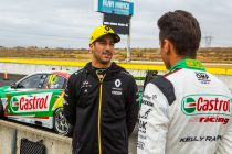 Supercars drive 'intimidating' for Ricciardo