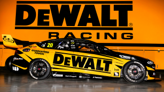 DEWALT backing for Pye at Team 18