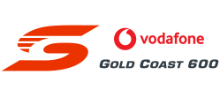 V8 Supercars - Vodafone Gold Coast 600 logo