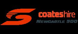 V8 Supercars - Coates Hire Newcastle 500 logo