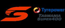 V8 Supercars - Tyrepower Tasmania Super400 logo