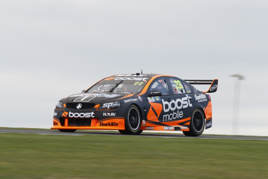 James Courtney of Walkinshaw Racing during the WD-40 Phillip Island 500,  at the Phillip Island Grand Prix Circuit, Phillip Island, Victoria, April 21, 2017.