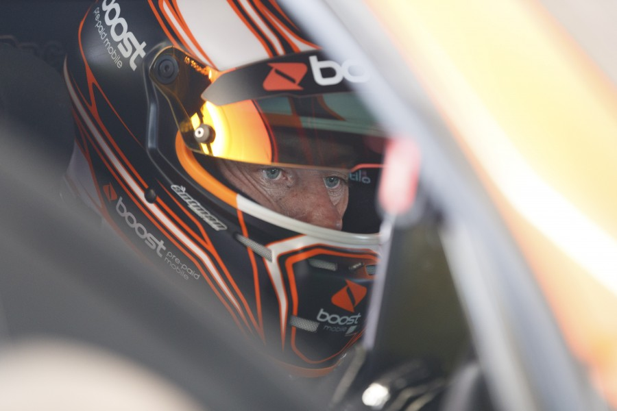James Courtney of Walkinshaw Racing during the Perth SuperSprint,  at the Barbagallo Raceway, Wanneroo, Western Australia, May 05, 2017.
