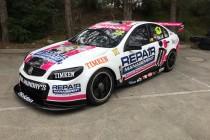 LDM unveils pink McGrath livery