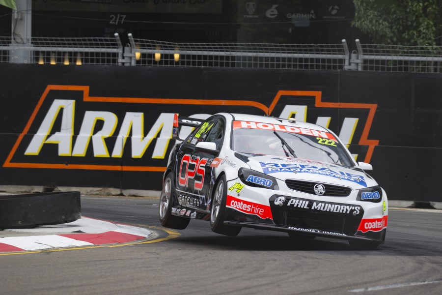Jack Perkins of Lucas Dumbrell Racing during the Coates Hire Sydney 500,  at the Homebush Street Circuit, Sydney, New South Wales, December 04, 2015.
