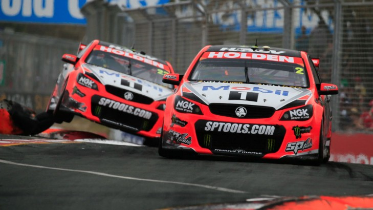 22_-_Garth_Tander_and_James_Courtney_-_Race_26_-_Castrol_Gold_Coast_600_-_2015