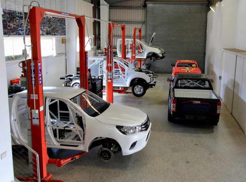 Five brands of SuperUte are currently at RSR
