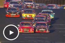 Flashback: McLaughlin and van Gisbergen tangle