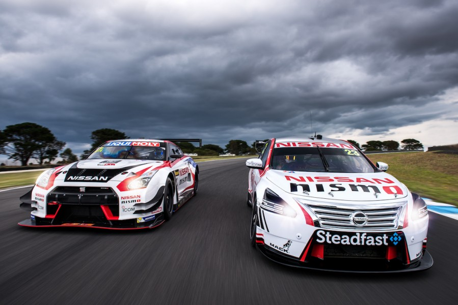 Nissan GT3 and V8 Supercars 2016 Phillip iSland