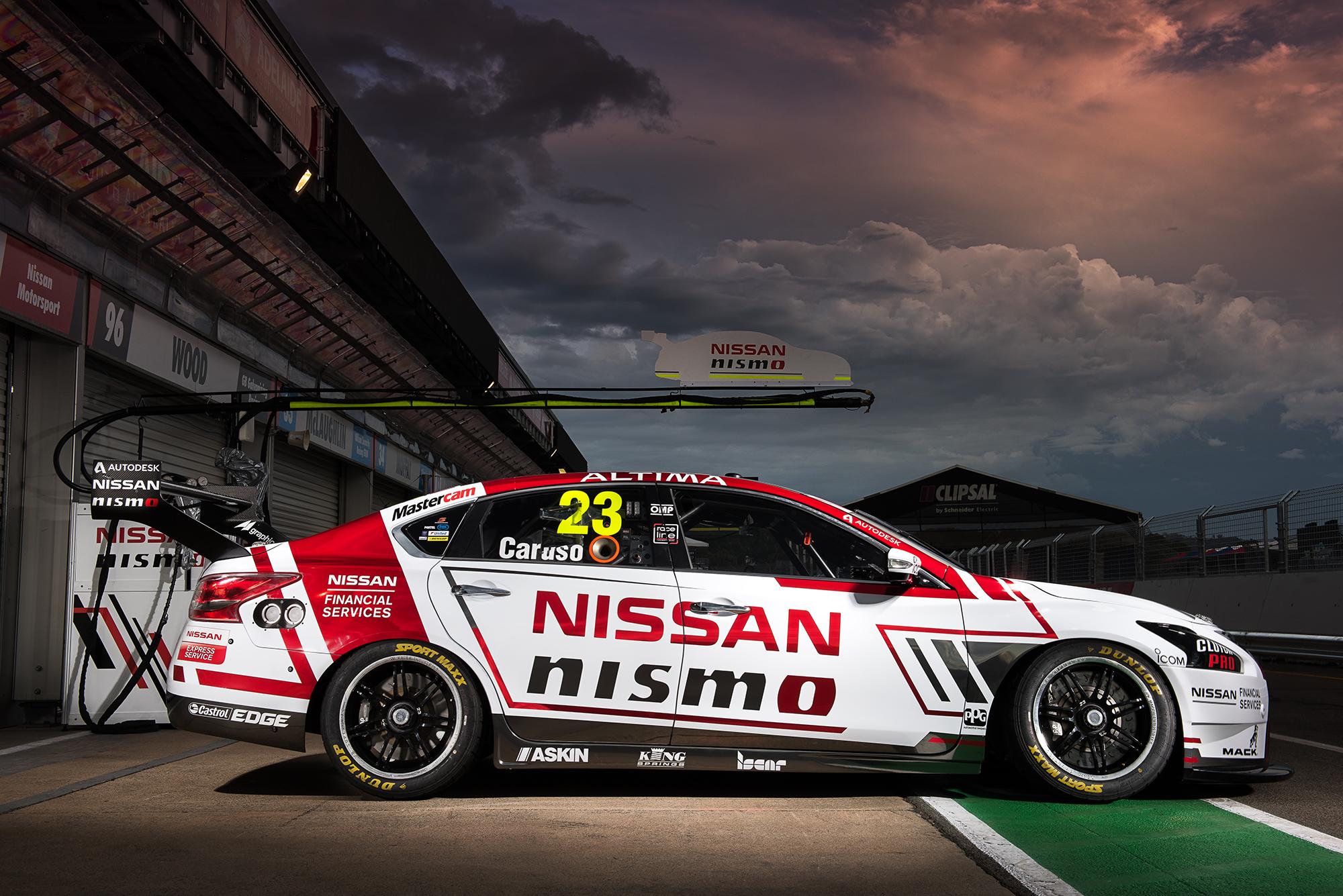 Nissan Caruso Clipsal 500 2016
