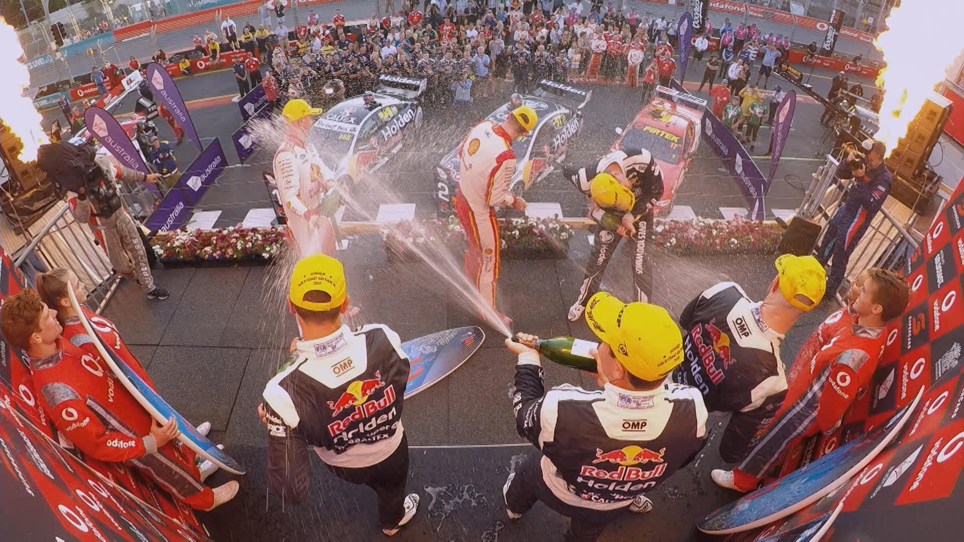 Highlights Race 26 Vodafone Gold Coast 600 Supercars
