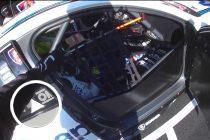 Unique view of Supercars driver change