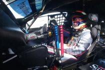 Lowndes thrashes Coulthard's car round the mountain