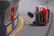McLaughlin's huge crash in Gold Coast qualifying