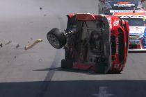 McLaughlin escapes horror qualifying crash