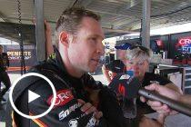 Penrite Racing debriefs tough day