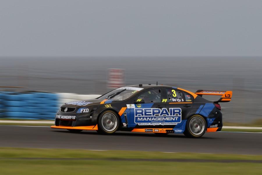 Tazz Douglas during the WD-40 Phillip Island 500,  at the Phillip Island Grand Prix Circuit, Phillip Island, Victoria, April 21, 2017.