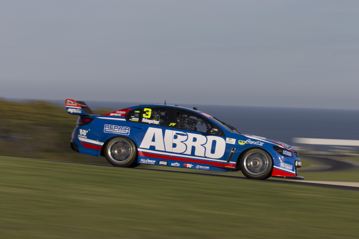 Andrea Heimgartner of Lucas Dumbrell Racing during the WD-40 Phillip Island SuperSprint,  at the Phillip Island Grand Prix Circuit, Phillip Island, Victoria, April 15, 2016.