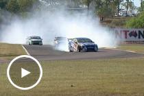 Flashback: Van Gisbergen celebrates in style in 2011