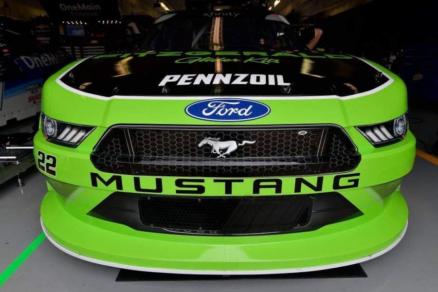 Penske campaigns Mustangs in the NASCAR Xfinity Series