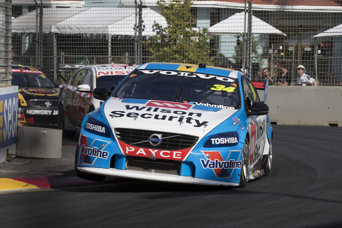 James Moffat of Garry Rogers Motorsport during the Clipsal 500,  at the Adelaide Street Circuit, Adelaide, South Australia, March 05, 2016.