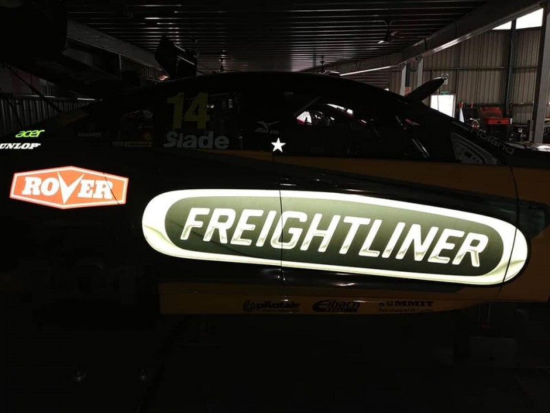 BJR has shown off its reflective vinyl logos