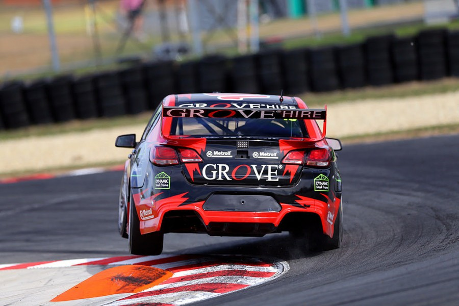 Grove in action at Symmons Plains