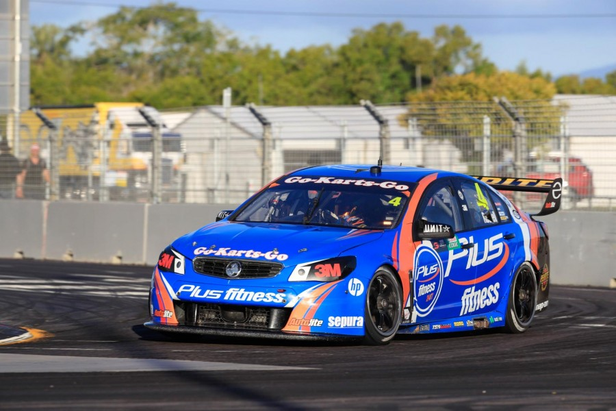 Russell's full-time drive with Erebus ended in Townsville last year