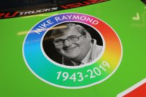 Special Raymond tribute on Tekno Holden