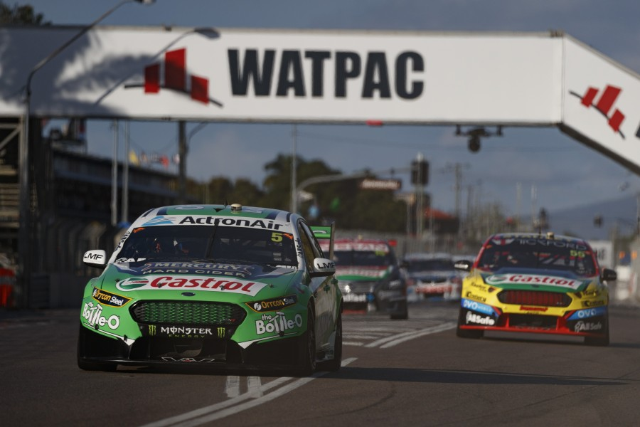 Mark Winterbottom of Prodrive Racing Australia during the Watpac Townsville 400,  at the Townsville Street Circuit, Townsville, Queensland, July 09, 2017.