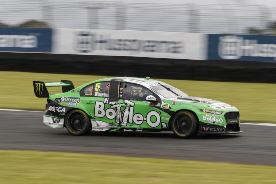 Mark Winterbottom of Prodrive Racing Australia during the ,  at the , , , November 05, 2017.